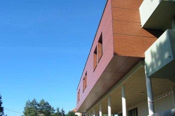 Bové Bardage Sarreguemines marron maison de retraite