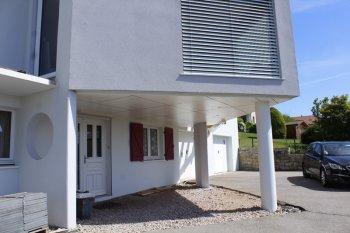 isolation façade enduit blanc cleurie