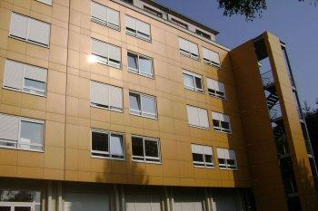 Bové Bardage Strasbourg Maison de retraite marron beige foncé