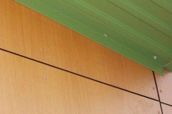Bové Bardage Vandeuil marron vert gris clair