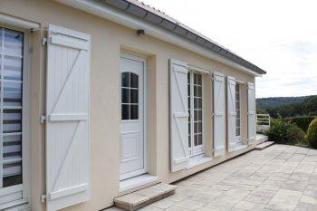 isolation façade enduit beige golbey