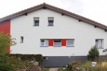 Ravalement Saint-Die-Des-Vosges isolation bardage enduit blanc rouge gris foncé