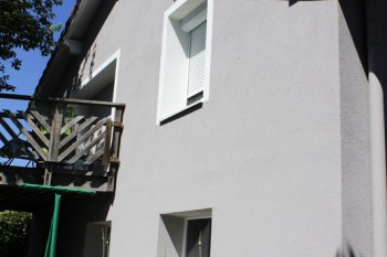 Ravalement Saint-Amé enduit isolation blanc gris clair