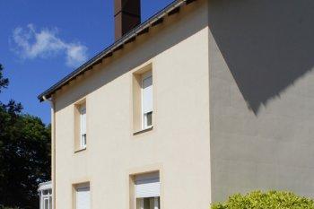 Ravalement Saint Etienne les Remiremont enduit isolation beige clair