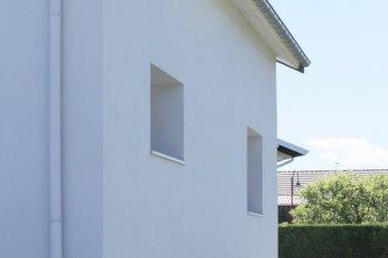 Ravalement Saint Etienne les Remiremont enduit isolation blanc gris foncé