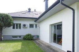 isolation façade enduit blanc gris arches