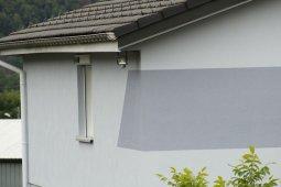 Ravalement Saint-Nabord isolation enduit blanc gris clair