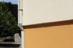 Ravalement vagney bardage enduit blanc marron orange