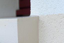 Ravalement vagney isolation bardage enduit blanc beige clair marron